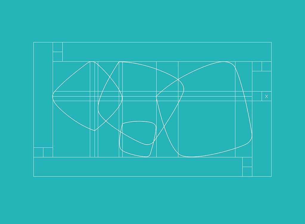"""Costruzione geometrica e area di rispetto marchio """"Grado – Più di un'isola"""""""